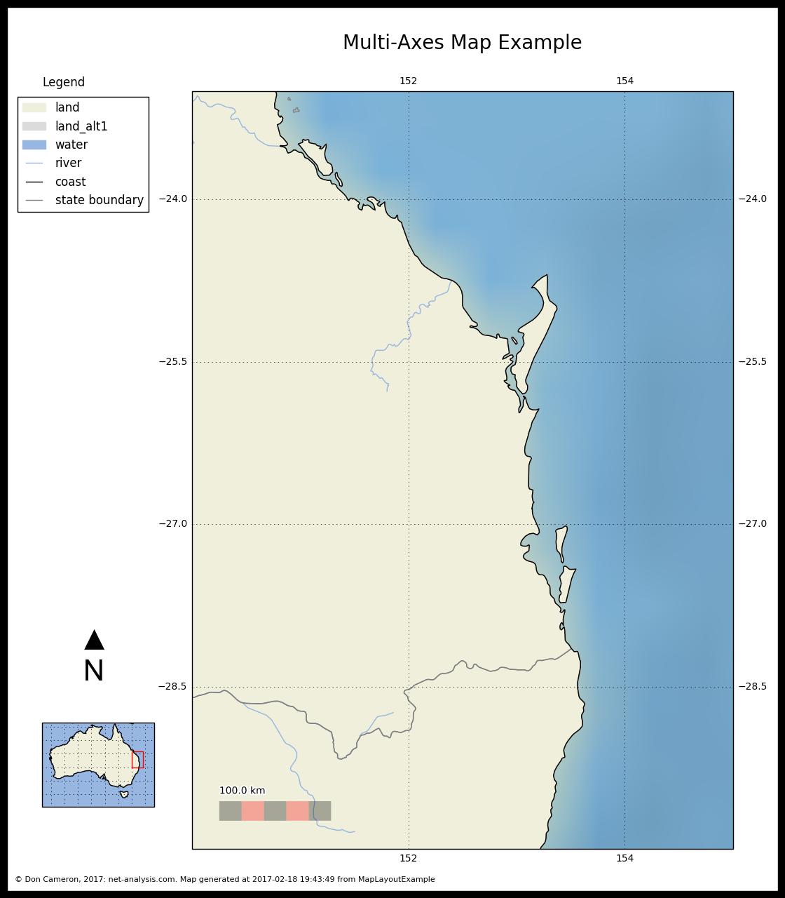 Cartopy and Map Layout - net-analysis com Data Analysis Blog